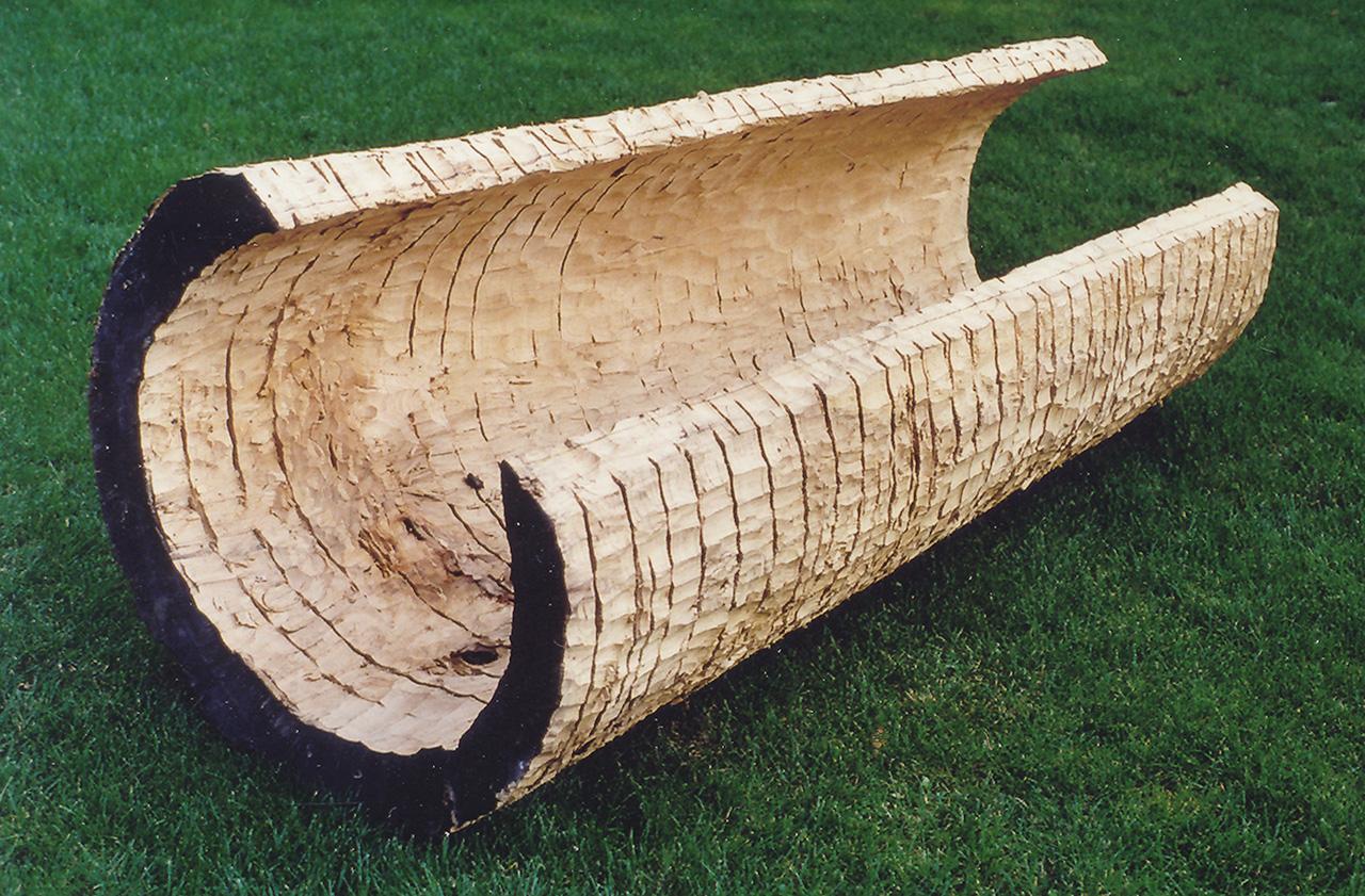 o.T.,1999,Pappel,230x100x85cm